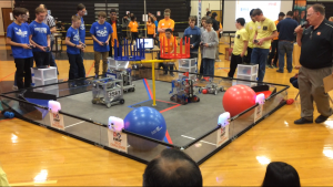 Telophase Cheers For Local High School Robotics Club Telophase