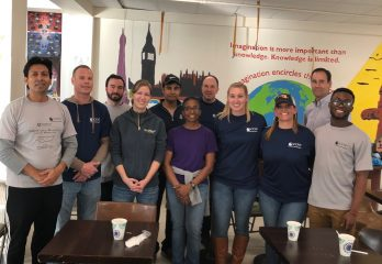 Telophase Volunteers Give Back to Local Community